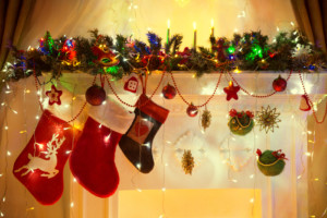 Christmas Family Hanging Socks, Xmas Lights Decoration, Tree Bra